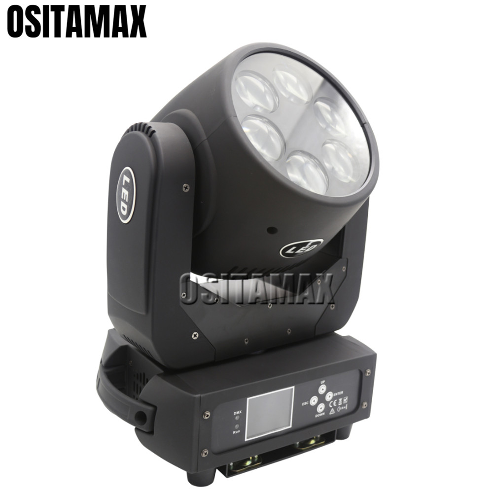 LED Beam Wash Moving Head Stage Light 6x25w Zoom Professional DJ Disco Equipment Lamp Colorful Luces Moving Head Beam Lights
