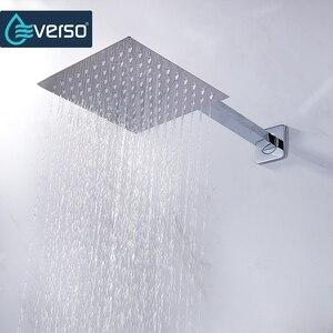 Image 2 - Vòng & Vuông Inox Sen Tắm Lượng Mưa Tắm Mưa Chrome Cao Cấp Chuveiro Tắm Vòi Ducha