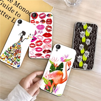 Flamingo 1 Silicon Soft TPU Case Cover For HTC Desire One X9 M9 M10 U11 630 650 820 825 828 830 10 12 Plus Pro Evo image