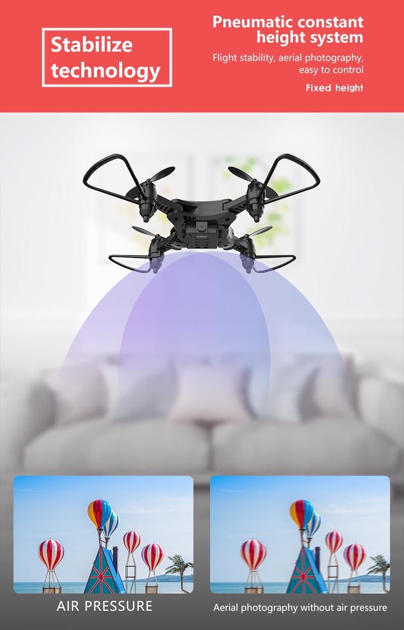 XKJ KY902 Mini Drone Quadcopter con cámara 4K HD 8