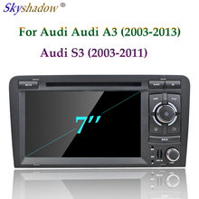 A3 DSP HD IPS Android 9.0 Para AUDI 2003-2013 S3 RS3 64 4 GB de RAM GB ROM Carro DVD Player Wifi 4G Bluetooth RDS RADIO GPS Glonass mapa(China)