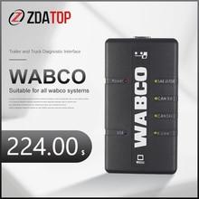 Wabco Diagnostic Kit (Wdi) Trailer & Truck Professional Diagnostic System Wabco Heavy Duty Truck Scanner Taal Engels Turks