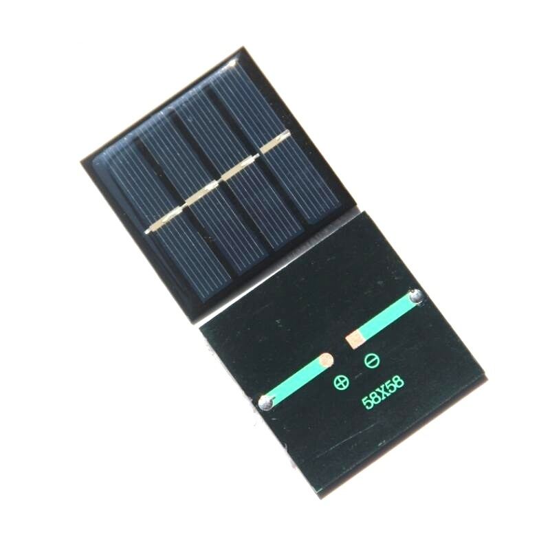 0 45W 2V Mini Solar Cell Polycrystalline Solar Panel Module DIY Solar System For LED 58