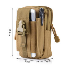 Neue Nylon Taille Tasche Tactical Pouch Jagd Gürtel Taille Tasche Military Pack Outdoor Telefon Beutel Dropshipping Über 12x6x17,5 cm(China)