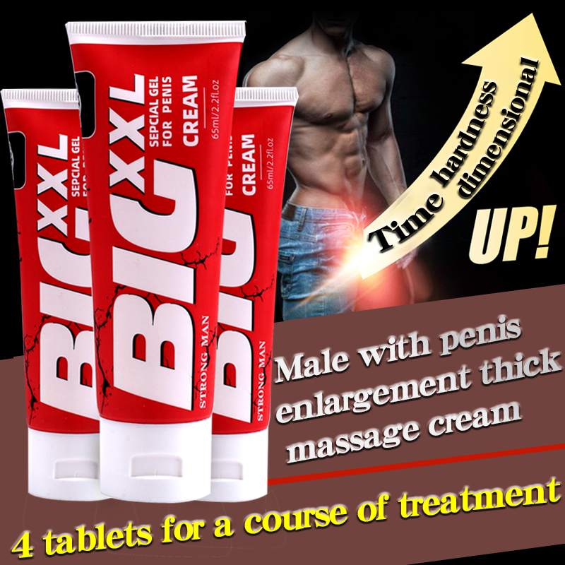 Herbal Big Dick Penis Enlargement Cream 65ml Increase Xxl Size Erection Products Sex Products for Men Aphrodisiac Pills for Man image