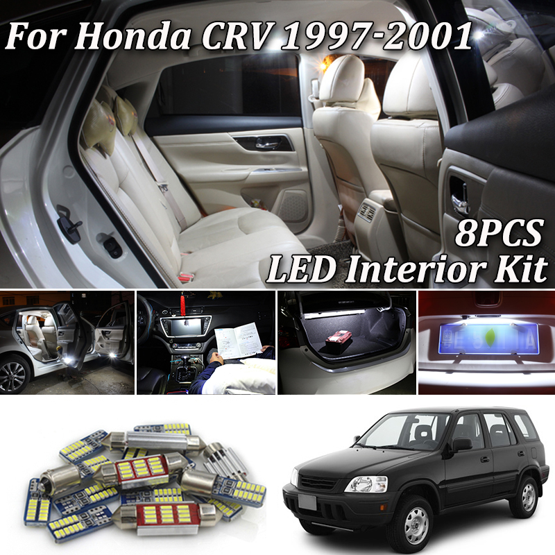 Pack Bulb Full LED Interior for HONDA CRV-3