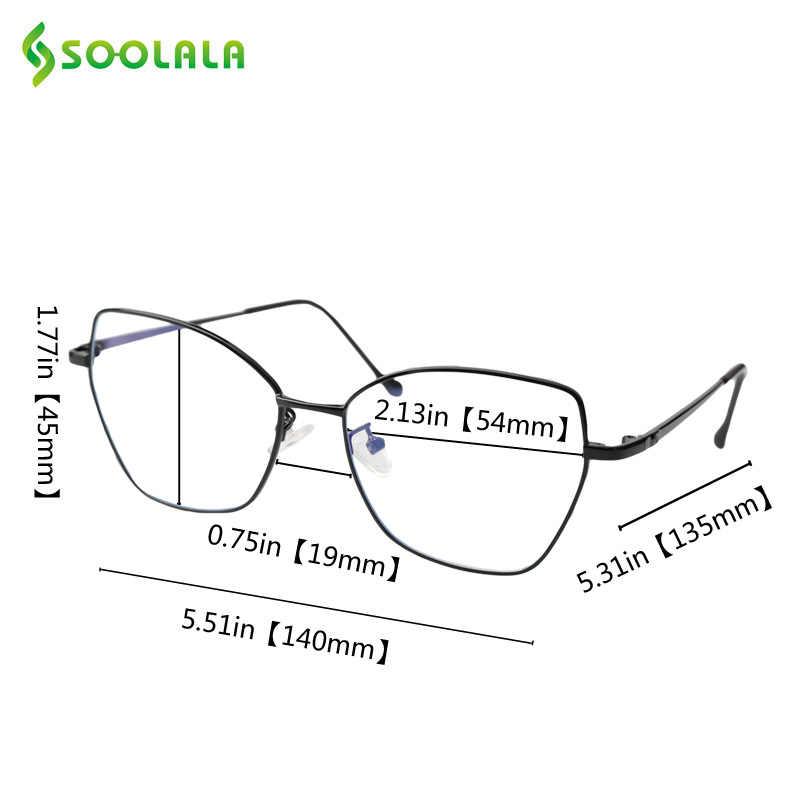 SOOLALA Farfalla Ultralight Montatura Da Vista Miopia Occhiali Cornice Donne Eyewear Ottico Lente Diottrica Occhiali da-1.0 a-4.0