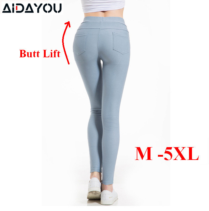 Womens Fashion Push Up Sexy Leggings Stretchy High Waist Various Designs Colors Summer Pants Casual Pencil Pants Ouc2505