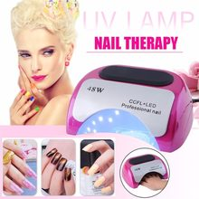 48W Auto-induction Sensor Quick Nail Dryer LED Lamp Gel Curing Ultraviolet Light Timer Nail Care Artifact Phototherapy Machine(China)