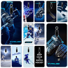 Hot Ice Hockey Arena Sport Silikon Case untuk Xiao Mi Mi Catatan 10 9T CC9 E 9 Pro A3 lite Bermain Merah Mi Note 8T 8 8A 6 Pro 6A 4X Cover(China)