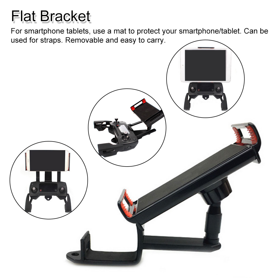 360 Rotate Remote Controller Bracket DJI MAVIC PRO /MAVIC AIR/SPARK Holder for Phone/ Tablet iPad Accessories