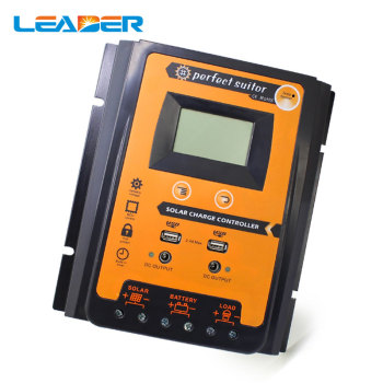 12V 24V 70A PWM Intelligent Solar Charge Controller Regulator LCD Display USB output for Lithium and Lead-acid battery 1