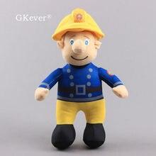 Figurines de pompier Sam en peluche 24 CM, jouets animaux en peluche, oreiller doux, jouet pour enfants fille, cadeau de noël et d'anniversaire pour bébé