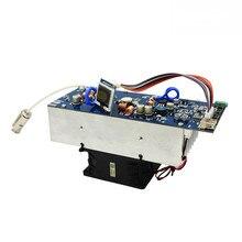 ใหม่ล่าสุดรุ่น 150W สเตอริโอ RF เครื่องส่งสัญญาณ FM เครื่องขยายเสียง 76 M 108 MHz ความถี่พัดลมและเสาอากาศวิทยุสถานีโมดูล I3 008