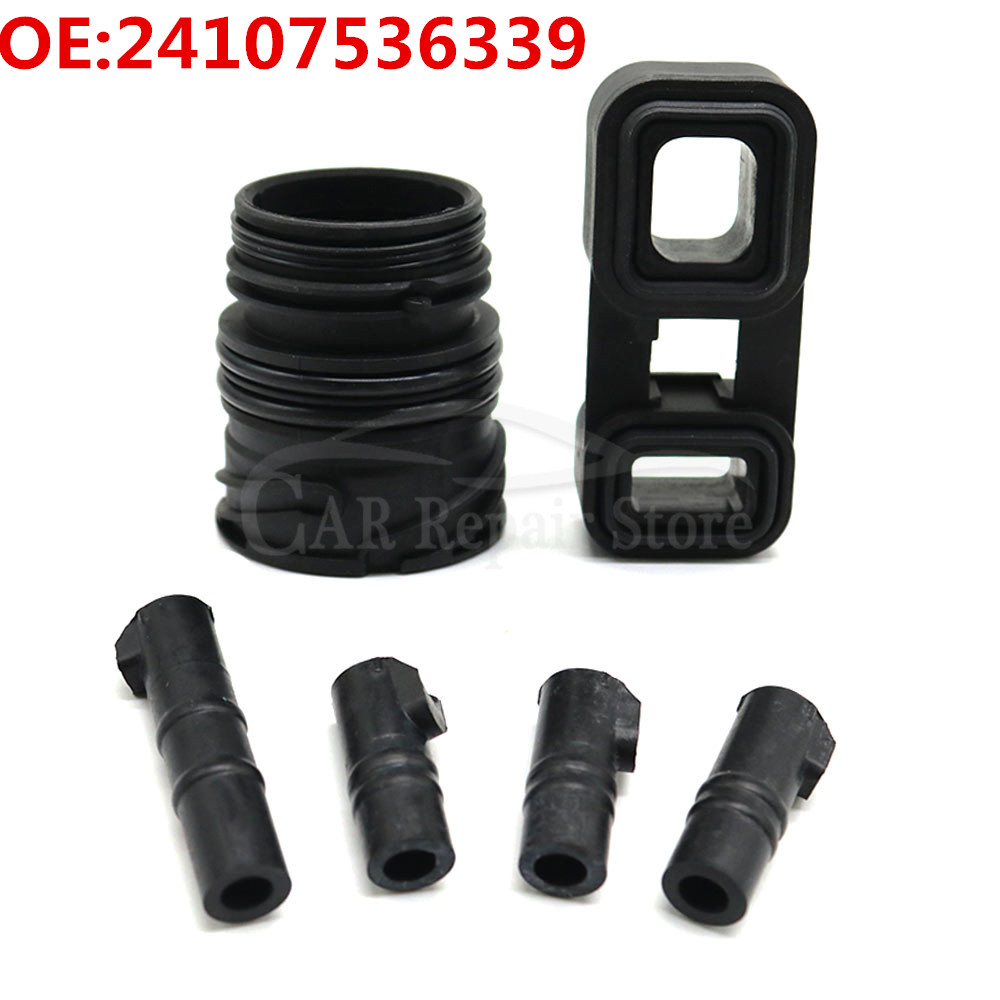 Car Valve Body ZF 6HP19 6HP21 Valve Body Sleeves Connector Adapter Seal Kit 24107536339 / 24107536340 / 24107536341 For BMW E60
