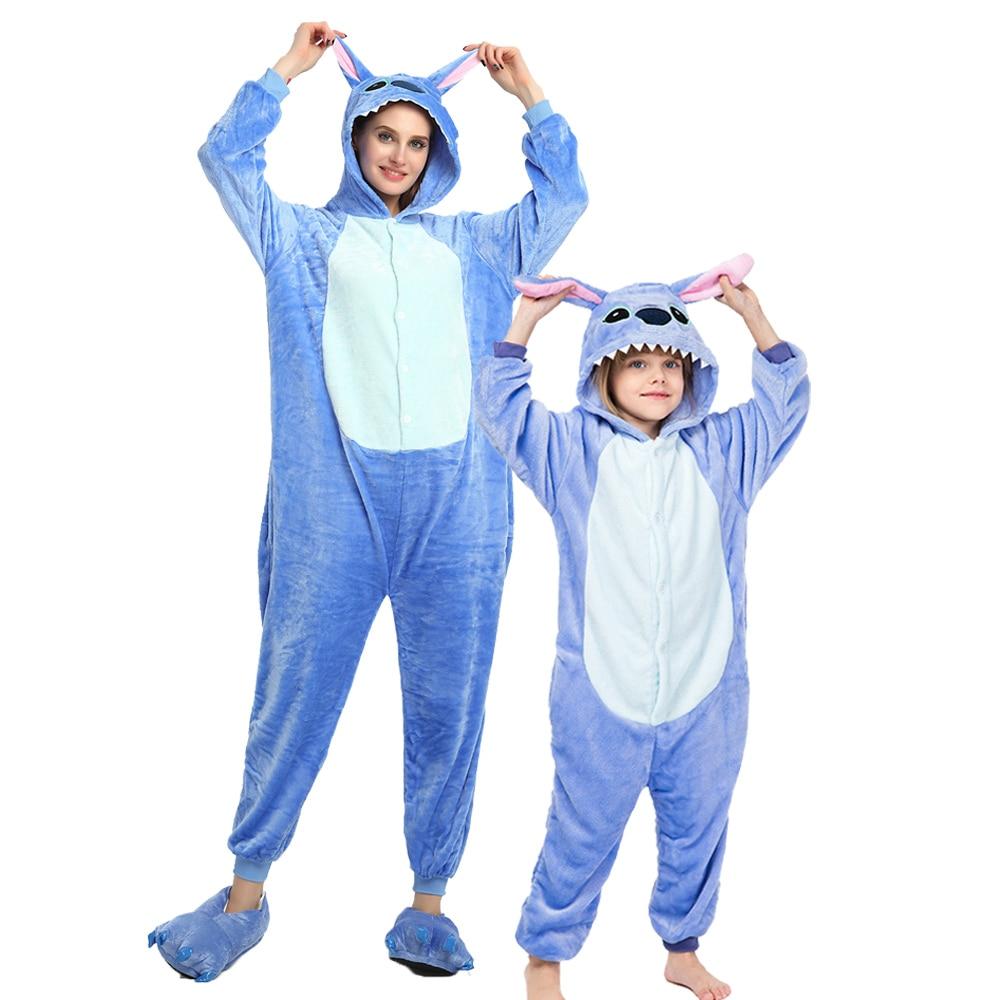 Детские пижамы с рисунком единорога, детские пижамы с рисунками животных, Детский костюм, зимний комбинезон с единорогом для мальчиков и де...