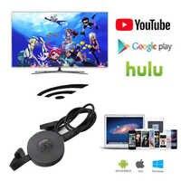 HDMI WiFi Dongle pantalla YouTube AirPlay Miracast TV Stick Google Chromecast 2 3 cromo fundido Cromecast 2