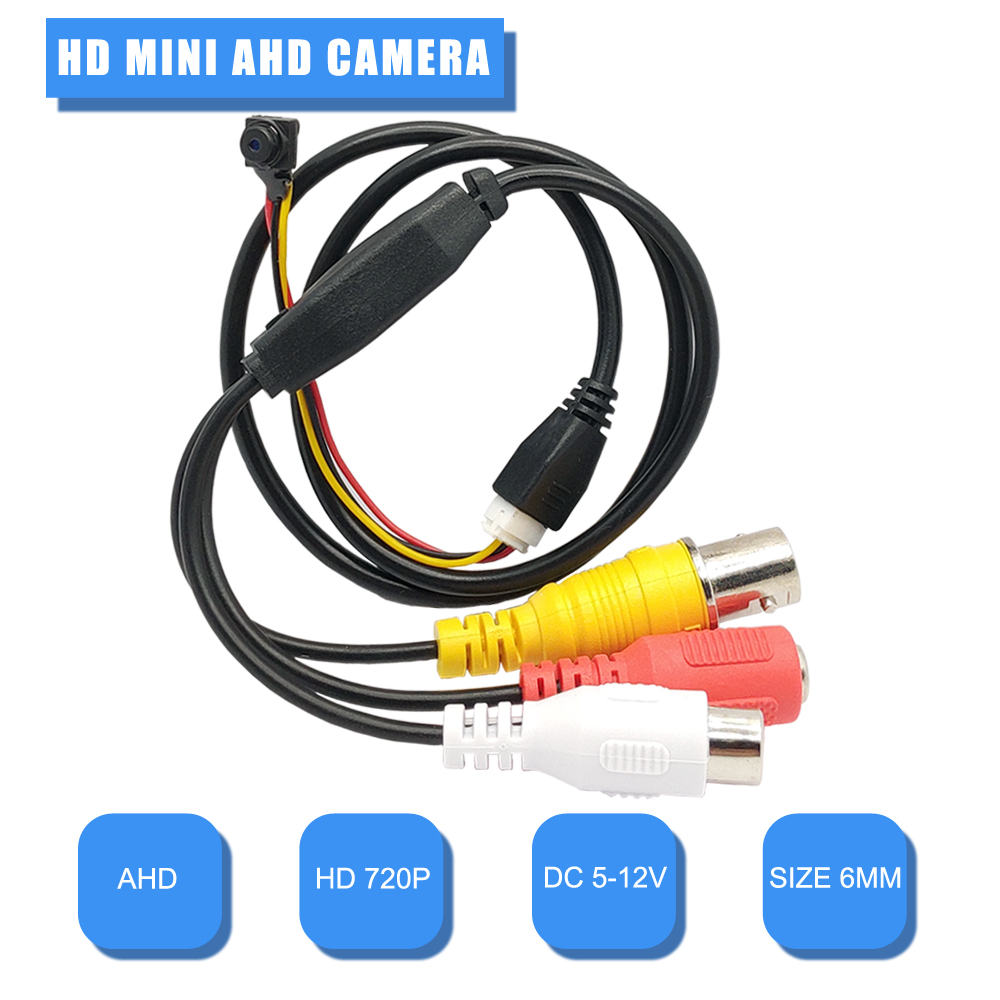 AHD Камера Mini 720P Камера безопасности Супер Мини AHD Камера 1МП Внутренняя Маленькая Камера AHD Высокая четкости Видеокамера
