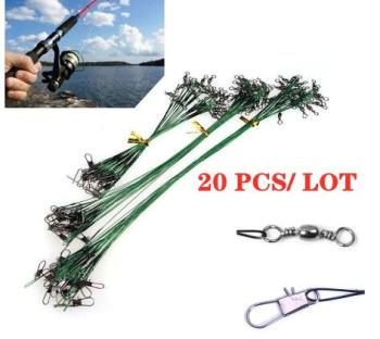 כבל פלדה לדיג טורפים – 20 יחידות