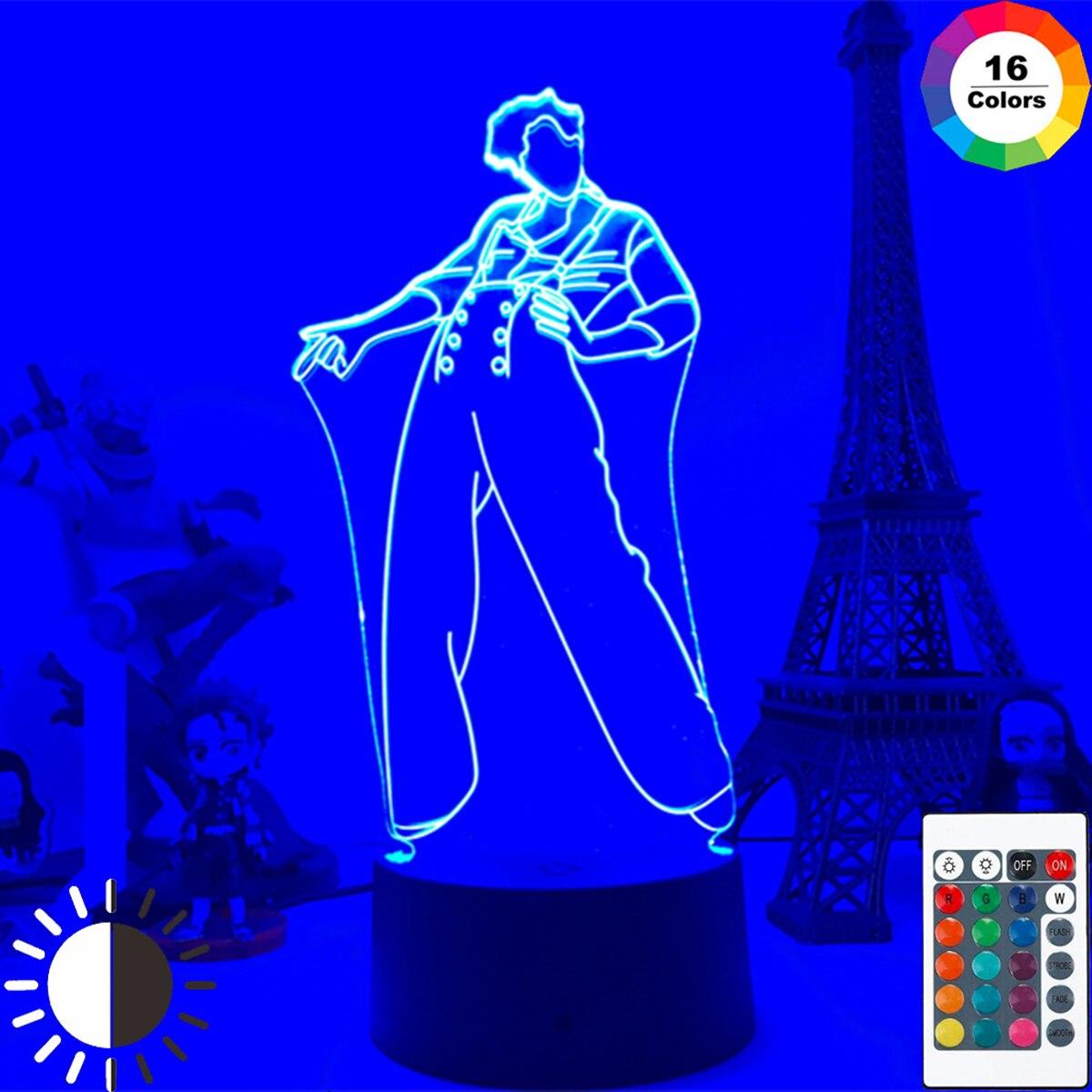 3d-светильник в стиле Гарри Эдварда, лампа в виде звезд, подарок для фанатов, декоративсветильник лампа с сенсорным датчиком, настольная ламп...