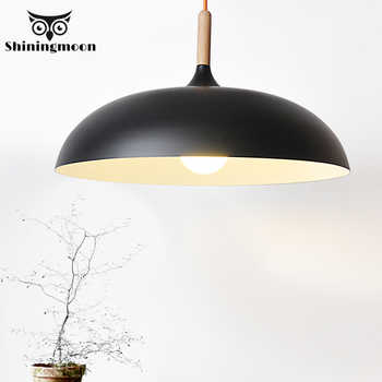 Modern Minimalism Home Decor Pendant Lights Nordic Aluminum White Black Dinning Room Pendant Light Cafe Stair Lighting Fixture - DISCOUNT ITEM  20% OFF All Category