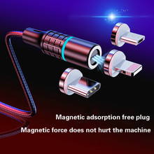 Magnetic Data Cable Usb One for Three Apple Android Typec Charging