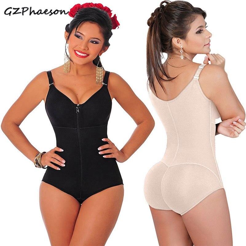 Slimming Body Shapers Corset Modeling Strap Women Full Body Shaper Shapewear Zipper Waist Trainer Butt Lifter Underwear Bodysuit