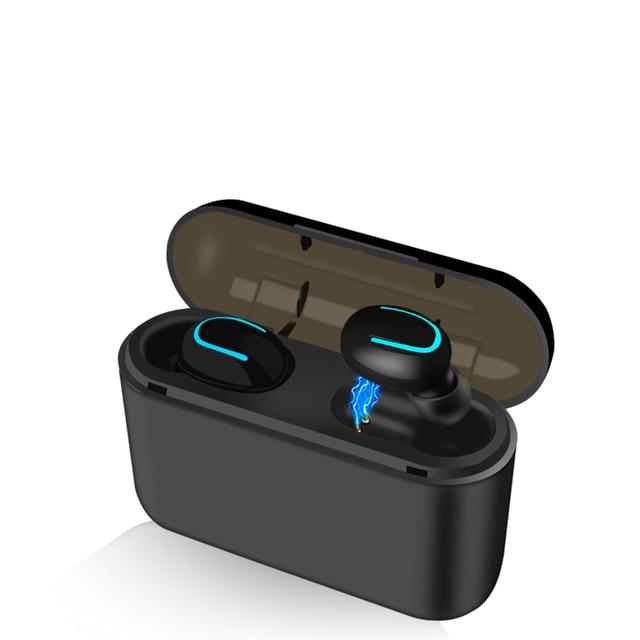 Bluetooth Earphones TWS Wireless Blutooth 5.0 Earphone Handsfree Headphone Sports Earbuds Gaming Headset Phone PK HBQ 4