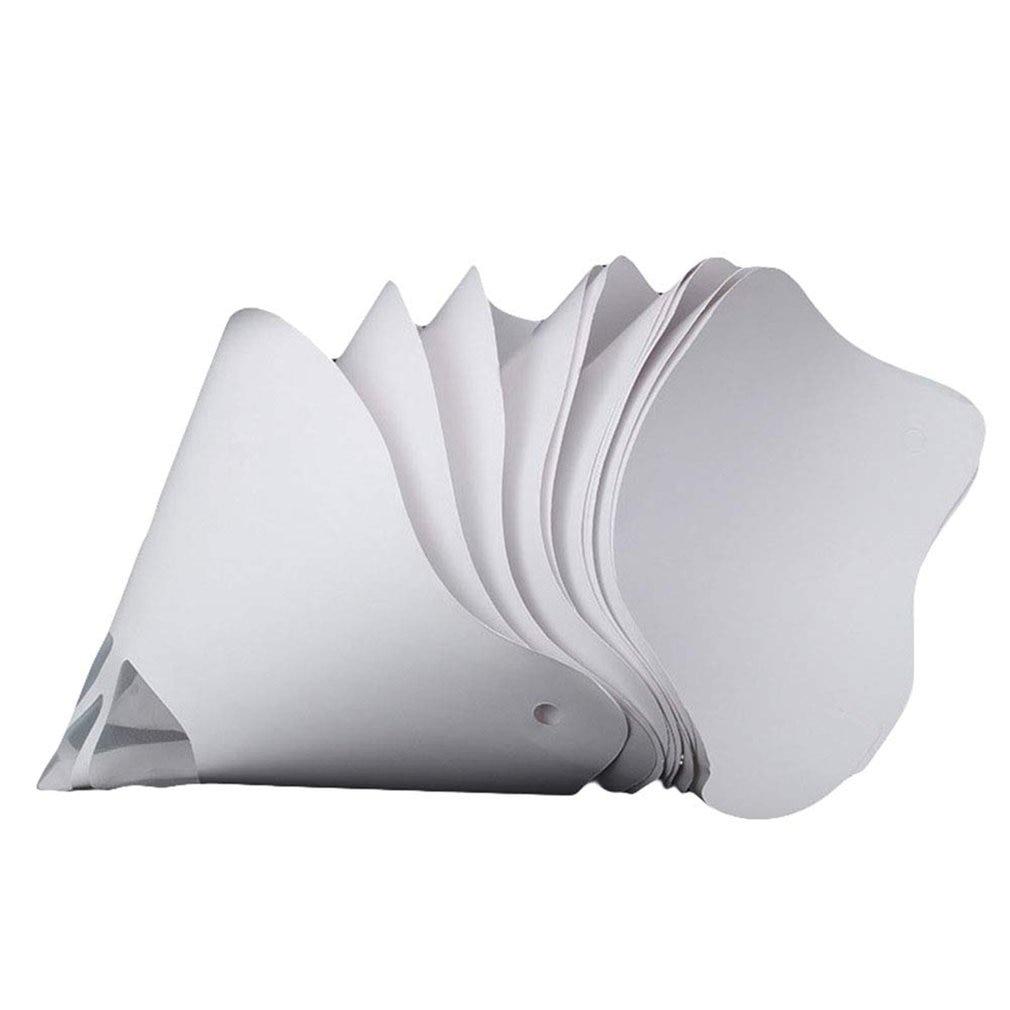 Paint Spray Gun Filter Paper Thick Paper Filter 3D Printer Parts Accessories Filament Filter Paper Funnel