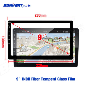 Fiber Glass Film for TEYES CC2 For LADA Vesta Cross Sport 2015-2019 Car Radio Multimedia Video Player Navigation GPS Android 8.1 image