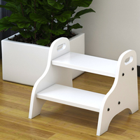 H1 Creative Children's Step Stool Step Stool Double Stool Wash Low Stool Step Ladder Children Furniture Designer Chair Cheap
