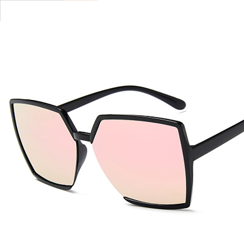 XIWANG Sunglasses Women Casual Simple Trendy High Quality Personality Polygonal Big Frame Vintage Temperament  Female