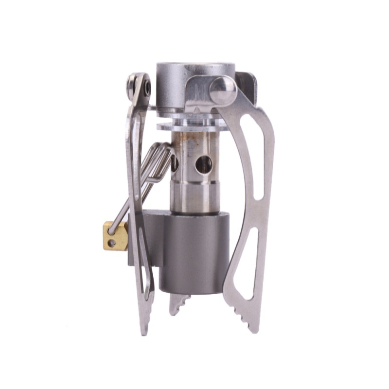 Mini 3000W Camping Stoves Folding Outdoor Gas Stove Portable Furnace Cooking Picnic Split Stoves Cooker Gas Burners