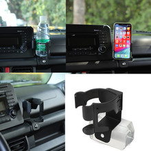 Without brand Support Voiture Universel Fit for Suzuki Jimny 2019 Mobile Car Phone Support Boisson Porte-gobelet Support Fit for Suzuki Jimny 2019+ Couleur : Cup Holder