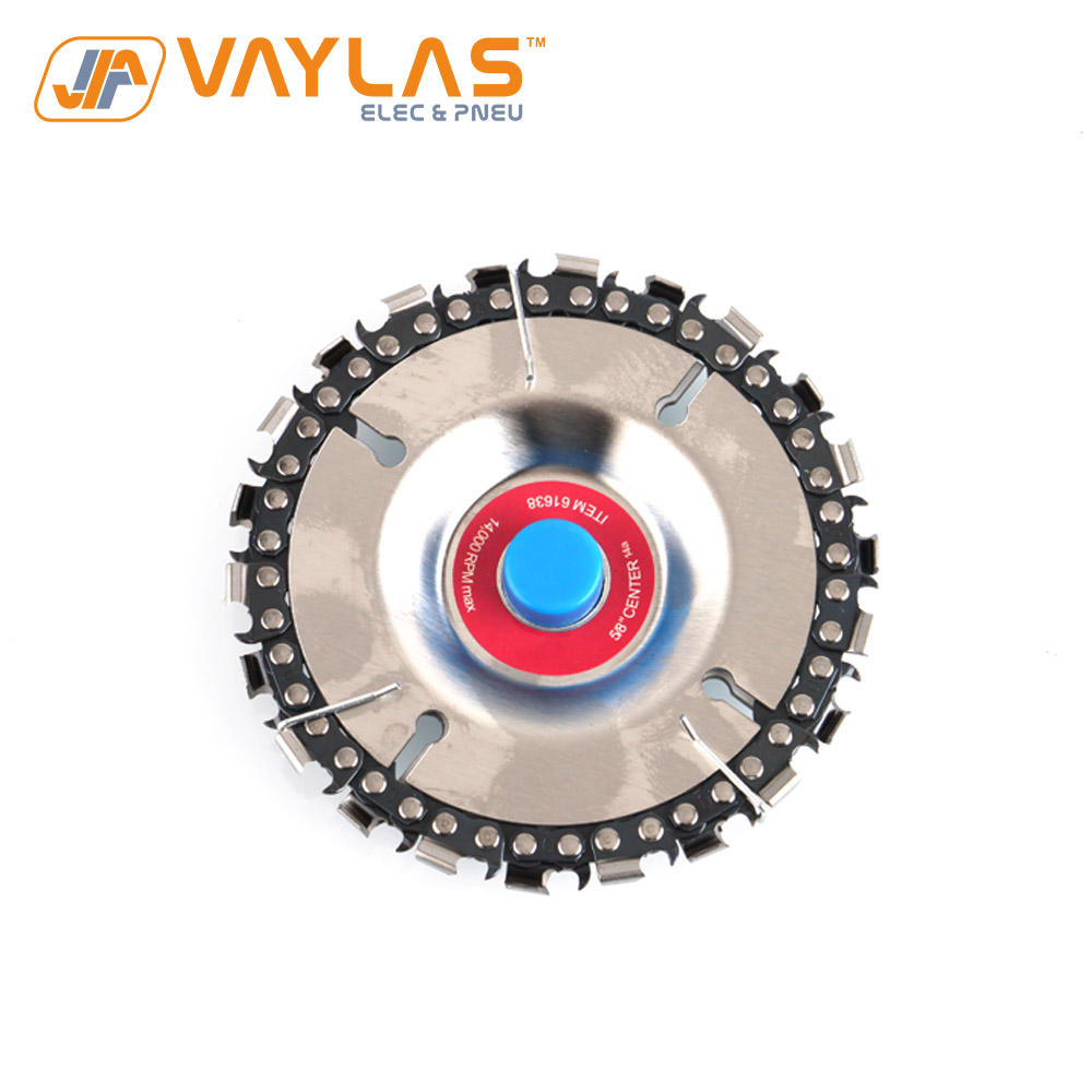 102x16mm 4 Inch 22 Teeth Chain Disc Woodworking Chainsaw Discs Cutting Blades For Angle Grinding Use Wood Slotting