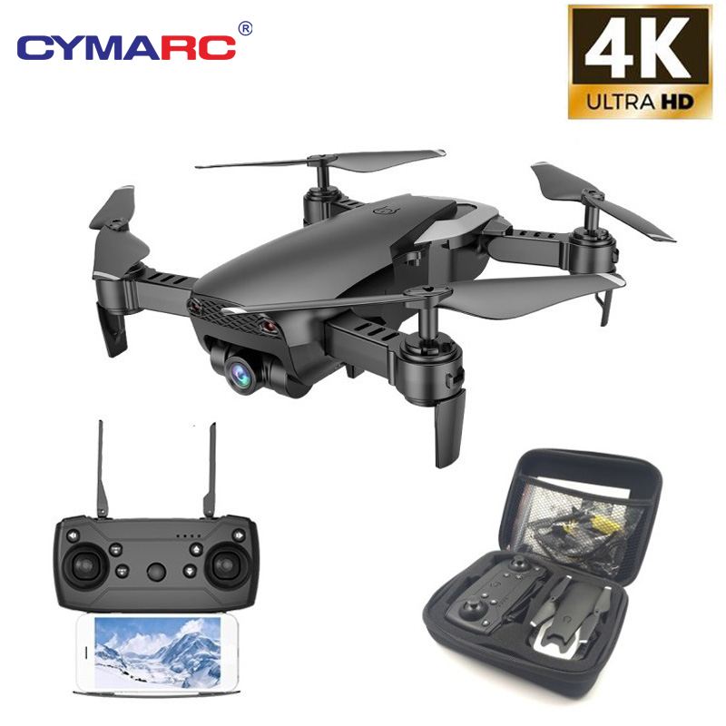 Teeggi M69 FPV RC Drone with 4K/1080P Wide-angle WiFi Camera HD Foldable RC Quadcopter Helicopter VS VISUO XS809HW E58 X12 Dron