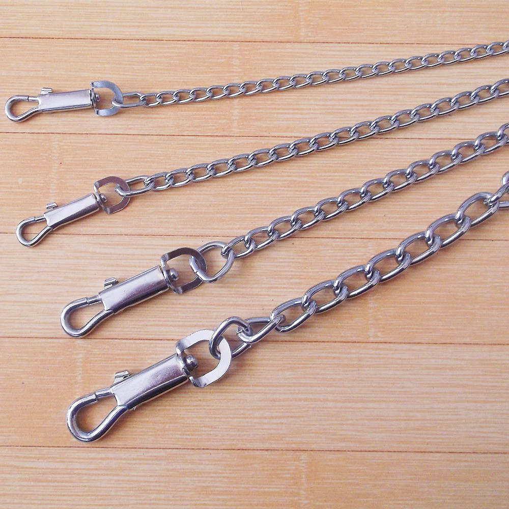 Dog Chain Dog Teddy Pet Traction Rope Rope Golden Retriever Small, Medium And Large Quan Xiang Quan Iron Chain Suppository Dog C