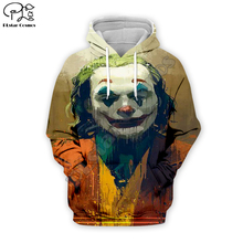 PLstar Cosmos Hot movie Joker Joaquin Phoenix Colorful Harajuku Tracksuit 3D Print Hoodie/Sweatshirt/Jacket/shirts Men Women s-6