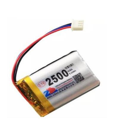 Free shipping 2pcs/lot <font><b>2500mAh</b></font> 103450 <font><b>3.7v</b></font> <font><b>lipo</b></font> <font><b>battery</b></font> With the NTC and protection board li-polymer rechargeable <font><b>battery</b></font> image
