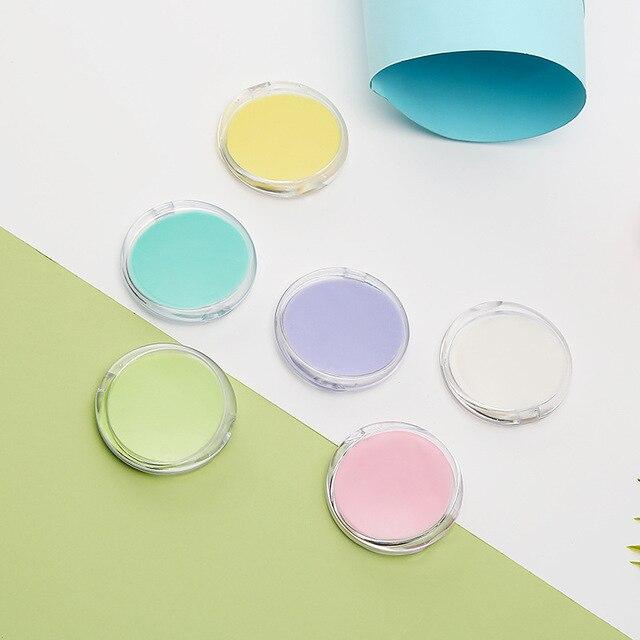 50pcs/set Portable Disposable Rose Flower Sea Salt Bath Paper Soap Hand-washing Soap With Soap Box 5