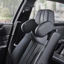 1pcs Child/adult car seat headrest travel rest neck pillow support solution For fiat 500 grande punto ducato mk3/2 ibiza citroen