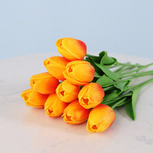 Tulips Artificial Flowers PU Calla Fake Flowers Real touch flowers for Wedding Decoration Home Party Decoration pu real touch artificial calla flower bonsai