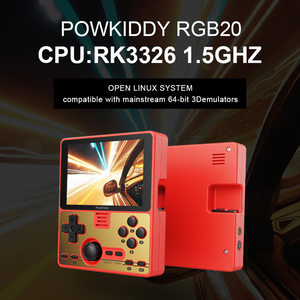 Image 2 - Powkiddy RGB20 Portable Handheld Game Console 3.5inch IPS Screen Mali G31 RK3326 Game Player Built in 4000 Games 3000mAh Battery