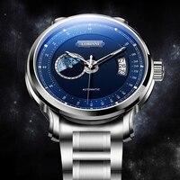 LOBINNI Uhr Männer Luxus Marke Männer Uhren Sapphire Tachymeter relogio Japan MIYOTA Automatische Mechanische Bewegung Uhr L17511