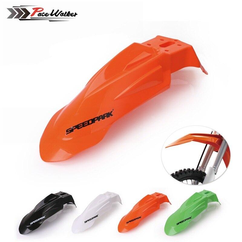 Universal Modified Accessories Motorcycle Front Fender Splashboard Plastic Fender Shield Yamaha Suzuki KTM
