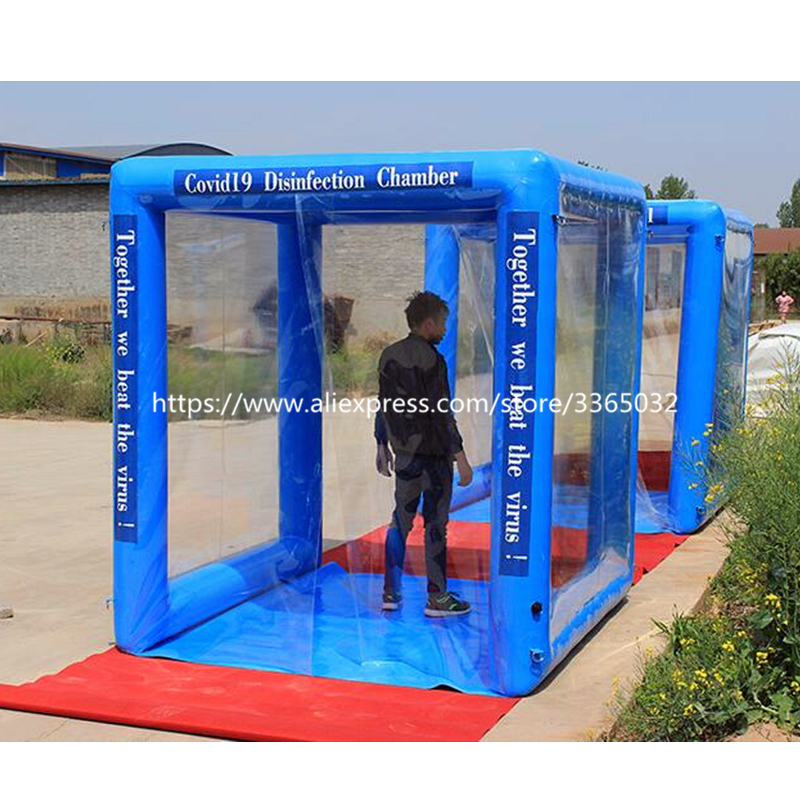 Outdoor Inflatable Medical Tent, Inflatable Disinfection Chamber For Sale