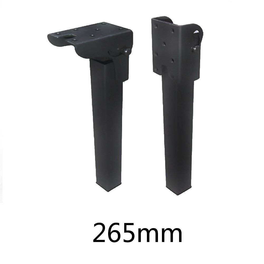 Feet Table Leg Invisible Cabinet Folding Sofa Bed Furniture Hardware Support DIY Chairs Accessories Metal Durable Replace