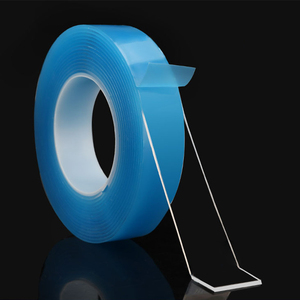 Image 2 - PET Pipe Sealing Repair Double Sided Adhensive Tape Reusable Nano Magic Gule Traceless Tapes Washable Removable Sticker 1 Roll