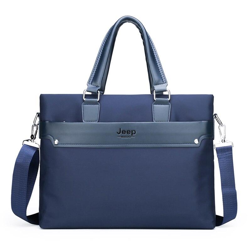 Durable Nylon Fabric Men's Briefcase Business Bag Luxury Designer Men's Handbag Purse Fashion Casual Men Briefcase Shoulder Bag