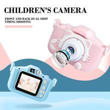 Двойная камера для детей, мини цифровая фотокамера для детей, мини-мультипликационная игрушка, полимерные литиевые аккумуляторы для игрушек в подарок